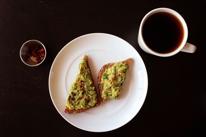Avocado Toast Breakfast